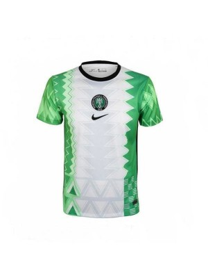 Nigeria Home Jersey Match Mens Soccer Sportwear Football Shirt 2021